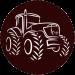 Farmárska revue logo traktor